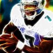 Magical Michael Vick Art Print by Paul Van Scott