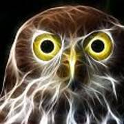 Magical Owl Art Print