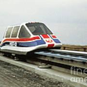 Magnetic Levitation Train Art Print