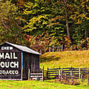Mail Pouch Tobacco Barn Art Print