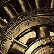 Main Generator Wheel Art Print