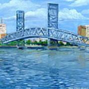 Main Street Bridge Art Print