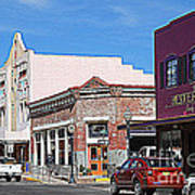 Main Street In Silver City Nm Art Print
