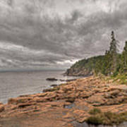 Maine Coastline. Acadia National Park Art Print