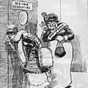 Maine: Womens Suffrage Art Print