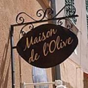 Maison De L'olive Art Print