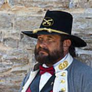 Major General Lunsford L.lomax Portrayed By Dan L. Carr 150th Anniversary Of The American Civil War  Art Print