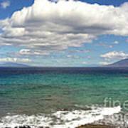 Makena Sea And Sky Art Print