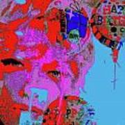 Makeup 8 Art Print