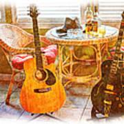 Making Music 005 Print by Barry Jones