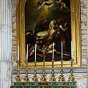 Malachite And Lapis Lazuli Altar Art Print