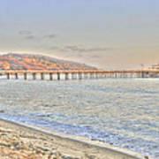 Malibu Pier North Art Print