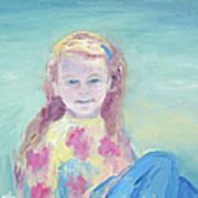 Malve Portrait Art Print