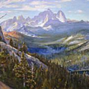 Mammoth Lakes In The High Sierras Art Print