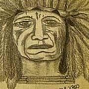 Man Of Wisdom - D Art Print