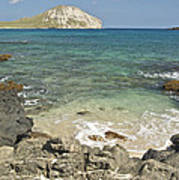 Manana Island View 0068 Art Print