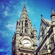 #manchester #buildings #classic Art Print