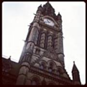 Manchester's Beautiful Town Hall Art Print