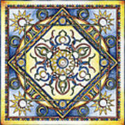 Mandala Of The Sun Art Print