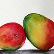 Mangos Art Print by Prashant Shah