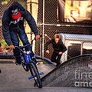 Manhattan Bmx Art Print