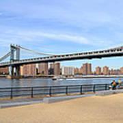 Manhattan Bridge1 Art Print