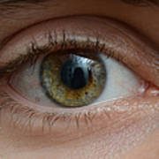 Mans Eye Art Print