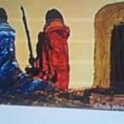 Manyatta Art Print
