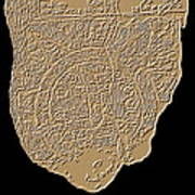 Map Of Mesopotamia Art Print