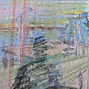 Maple Leaf Quay Art Print