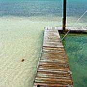 Marathon Dock Florida Keys Art Print