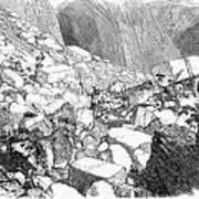 Marble: Quarry, 1852 Art Print