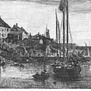 Marblehead: Fishing Boats Art Print