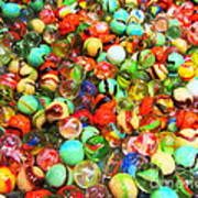 Marbles - Painterly Art Print