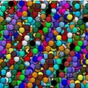 Marbles..or...gumballs Art Print