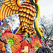 Mardi Gras Parade 2 Art Print