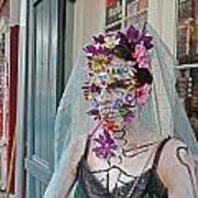 Mardi Gras Voodoo In New Orleans Print by Louis Maistros