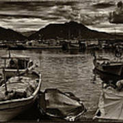 Mare Mediterraneo Art Print