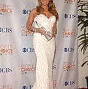 Mariah Carey Wearing A Ysa Makino Gown Print by Everett