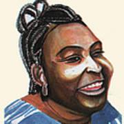 Mariama Ba Art Print