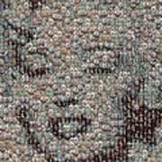 Marilyn Monroe Bubble Glass Mosaic Art Print