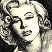 Marilyn Monroe Art Print by Debbie DeWitt