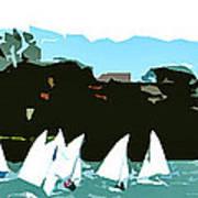 Marina Del Rey Art Print