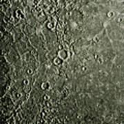 Mariner 10 Mosaic Of Mercury Showing Art Print