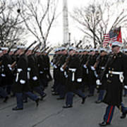 Marines Participate In The 2009 Art Print