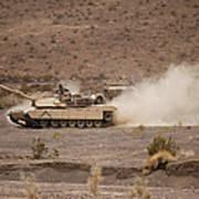 Marines Roll Through The Combat Center Art Print