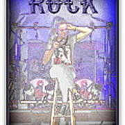 Marjo Rock  Art Print