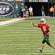 Mark Sanchez Ny Jets Quarterback Art Print