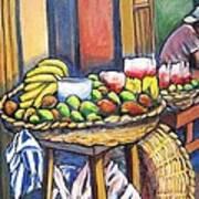 Market Merchant Of Granada Art Print