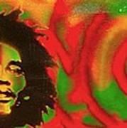 Marley Love Art Print